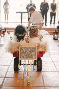 flower-girls-being-pulled-on-wagon-by-ring-bearer