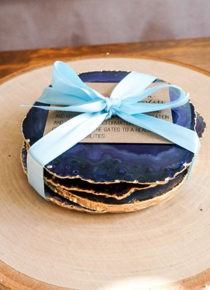 Agate coasters weddingomaniacome